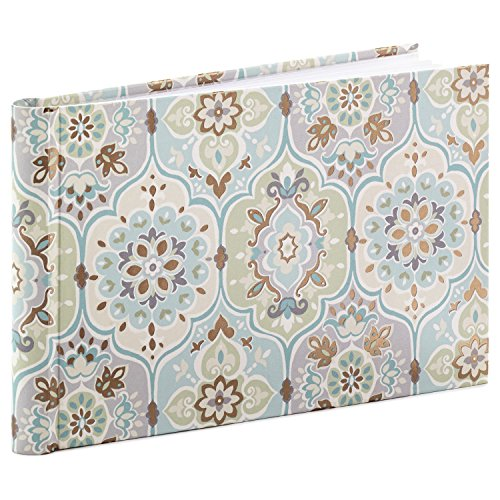 Blue Damask Photo Card - Hallmark Classic Slim Photo Album
