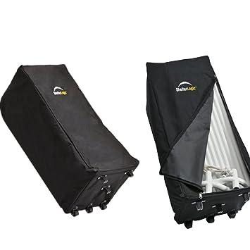 ShelterLogic Store It Canopy Rolling Storage Bag, Black