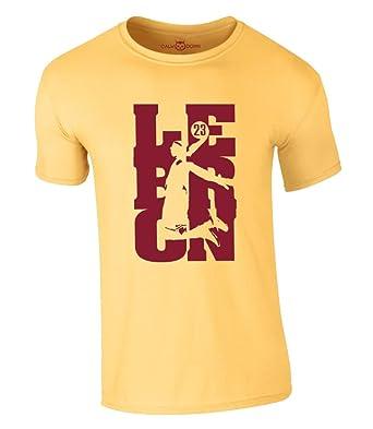 lowest price 04710 47f8b Lebron James T-Shirt 23 King LBJ LA Lakers Jersey Trikot Basketball Shirt  New Los Angeles  Amazon.de  Bekleidung