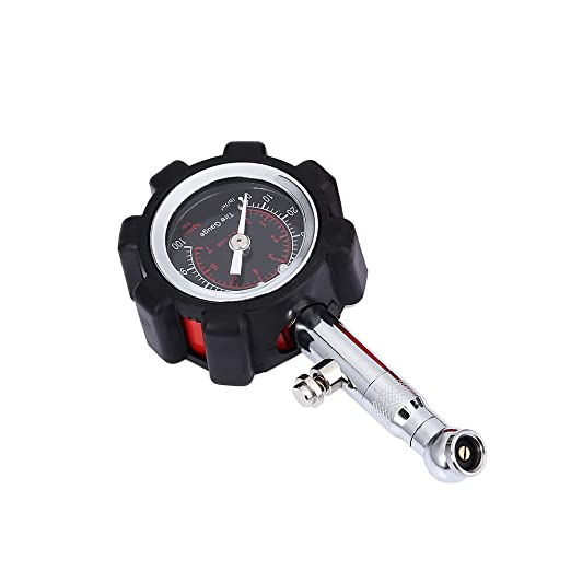 Toifucos High Accurate Car Tire Pressure Gauge 360/°Adjustable for Auto and Motorcycle Heavy Duty Tyre Pressure Gauge