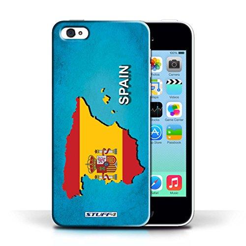 KOBALT® Hülle Case für Apple iPhone 5C | Spanien/Spanisch Entwurf | Flagge Land Kollektion