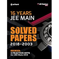 16 Years' Solved Papers JEE Main 2019