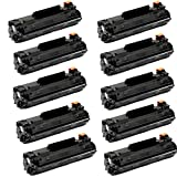 Shopcartridges® 10 Packs Canon 137 (9435B001) New Compatible Black Toner Cartridge for Canon ImageClass MF212w MF216n MF227dw MF229dw