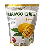 100% Natural Paradise Green Real Mango Chips Pack 10oz