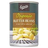 Biona Organic Butter Beans in Water (400g) - Pack of 6