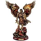 'Michael: Triumphant Warrior' Cold-Cast Bronze Sculpture by The Bradford Exchange