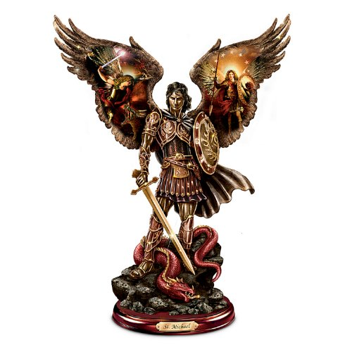 - The Bradford Exchange Michael: Triumphant Warrior Sculpture with Howard David Johnson Artwork