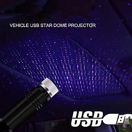 ZTMYZFSL LED Lámpara de proyector de techo para automóvil Star ...