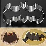 Ainest Halloween Fondant Cake Cookies Biscuit Cutter Mold Big Bat Batman Vampire Mould