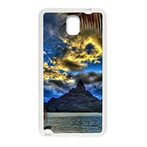 Beach View White Phone Case for Samsung Galaxy Note3