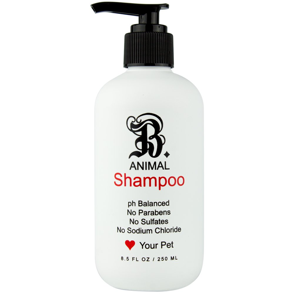 B THE PRODUCT Sulfate Free, Natural Pet Shampoo, Paraben Free For Itchy & Sensitive Skin, Witch Hazel & Wild Chamomile-PH Balanced For Pets-8.5oz.