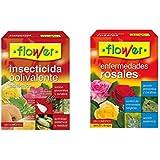 Flower Lote insecticida polivalente + Enfermedades de rosales (Fungicida)