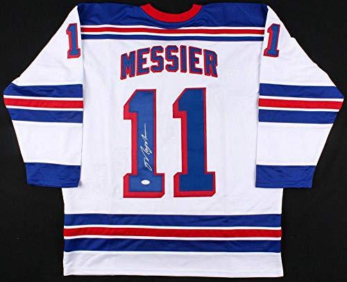 Signed Mark Messier Jersey - Custom) - Coa! - JSA Certified - Autographed NHL Jerseys