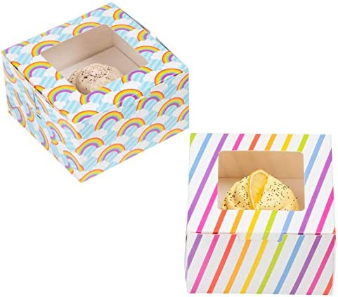 24 Pack Cupcake Boxes Individual Containers product image