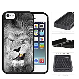 Lion With Gold Teeth Smirking 2-Piece Dual Layer High Impact Hard shellSilicone Cell Phone Case Case For Iphone 6 Plus 5.5 Inch Cover