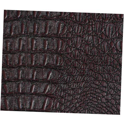 Fabric Brown Gator Faux Leather Fabric by The Yard - 54
