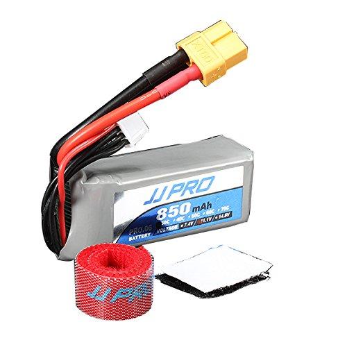 MAUBHYA JJPRO Power 11.1V 850mah 30C 3S Lipo Battery XT60 Plug by MAUBHYA