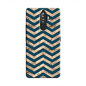 Cover It Up - Brown Blue Tri Stripes K8 Note Hard case