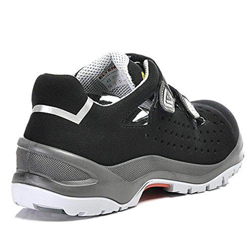 multicolore 45 esd Formato 45 impulso sandalo facile s1 sicurezza grigio 71245 Elten qwR7PP