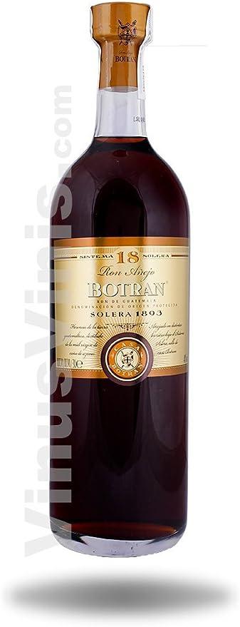 Ron Botran Solera 18 años Gran Reserva 3 litros: Amazon.es ...