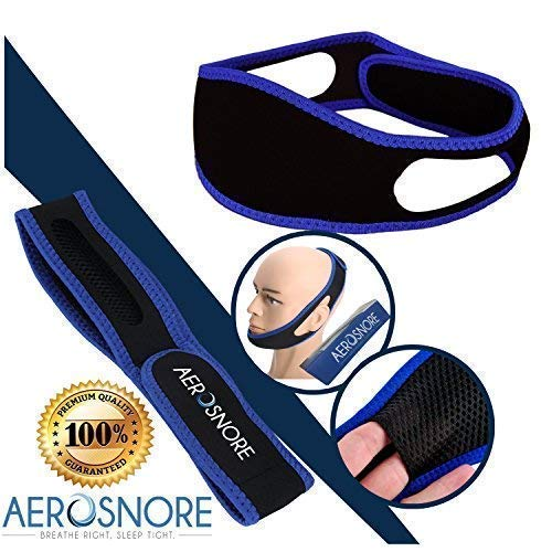 (Anti Snoring Chin Strap - Premium Snore Stopper Guard for a Natural Snore Relief - Anti-Snoring Mask for Men and Women - Adjustable Stop Snoring Chin Strap Perfect Solution for a Good Night Sleep)