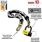 Kryptonite-Chains-Disc-Padlocks-New-York-Fahgettaboudit-Catena-1410-con-NY-Disc-15-mm-Shackle-Unisex-Adulto