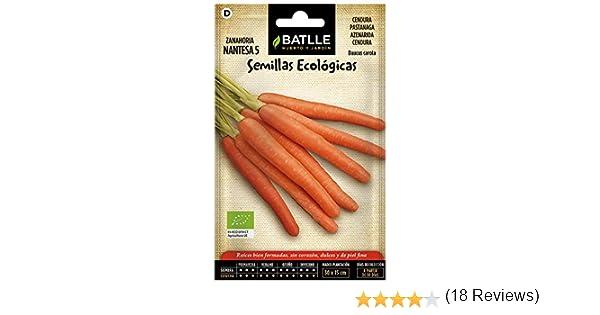 Semillas Ecológicas Hortícolas - Zanahoria Nantesa 5 - ECO ...