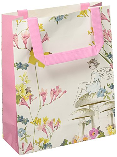 Talking Tables Truly Fairy Paper Treat Bags With Handles (8 Pack), Multicolor ()