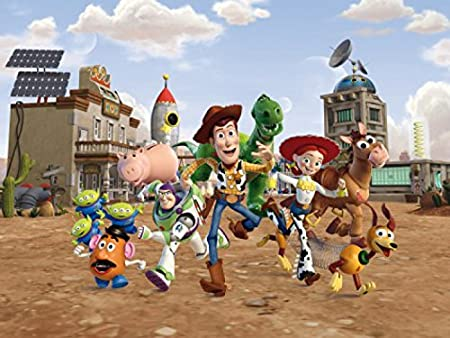 Toy Story Poster Photo Wallpaper Woody Buzz Lightyear