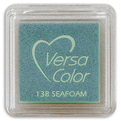 (Tsukineko Small-Size VersaColor Ultimate Pigment Inkpad, Seafoam )