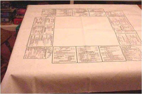 Bridge Coaching Tablecloth