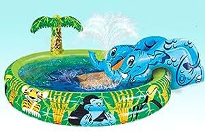 Banzai Spray 'n Splash Elephant Pool