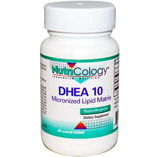 Nutricology, DHEA 10, 60 Scored Tablets - 3PC by Nutricology