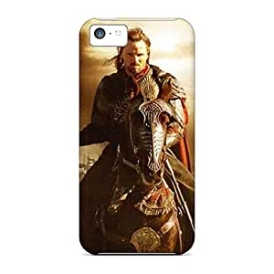 Scratch Resistant Hard Phone Case For Iphone 5c (SwV5487bTUW) Custom Stylish Lord Of The Rings Skin