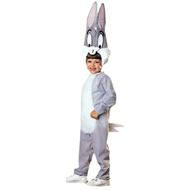 Amazon Com Bugs Bunny Cartoon Character Kids Costume Toys Games