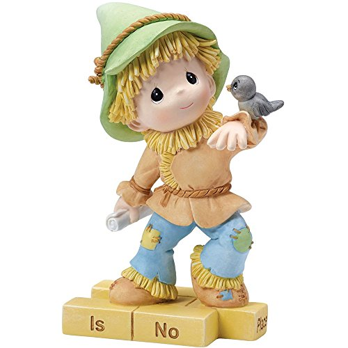 Precious Moments,  The Wonderful World of Oz Scarecrow, Resin Figurine, 154459