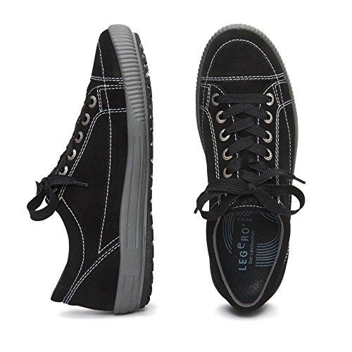 Legero 300820 TANARO Damen Sneakers Nero (Nero)