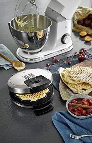 WMF 415210011 LONO Waffle Maker Edition 0415210011 Gaufrier, 900 W, Silber