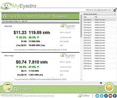 Eyedro EYEFI-2 Home WIFI Electricity Monitor, Supports Net Metering and Solar by Eyedro (Image #9)