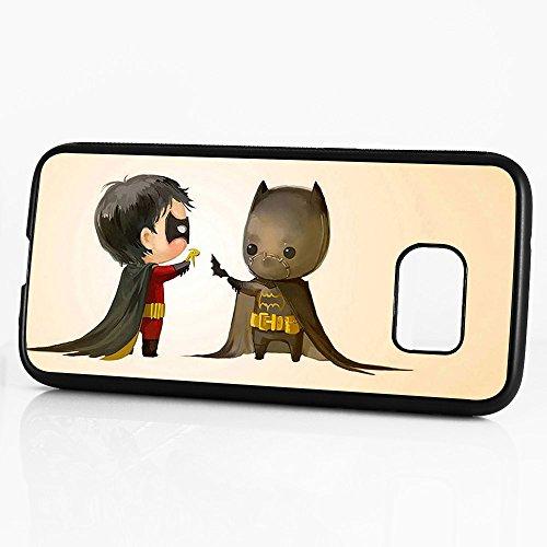 ( For Samsung S7 Edge , Galaxy S7 Edge ) Phone Case Back Cover - HOT10863 Batman Robin