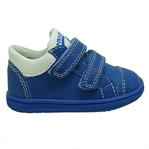 Primigi zapatillas de piel bebé PBX7029 Jeans JEANS