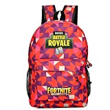 Battle Royale College Kids Children Backpack Red