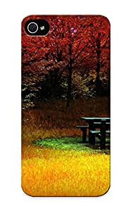 For Iphone 5/5s Fashion Design Fall Case-waejvv-5844-lpjqglg / Cover Specially Made For Thanksgiving Day's Gift
