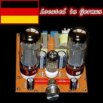 6N2 + EL34 clase A amplificador amplificador de válvulas tablero Kit Röhrenverstärker DIY de una sola