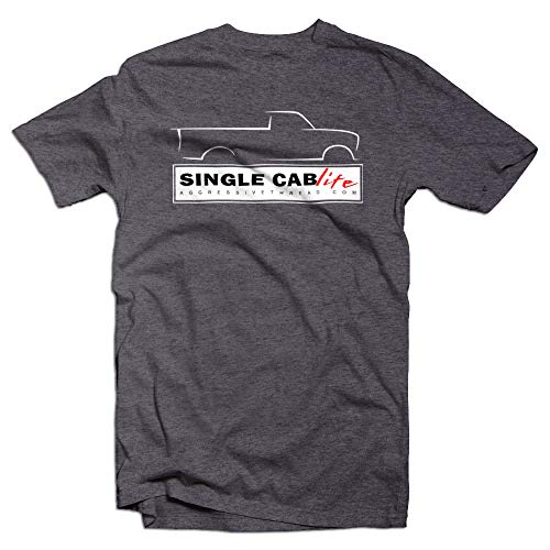 - Single Cab Life Chevy, GMC, Ford, Dodge Squarebody T-Shirt for Truck Lovers