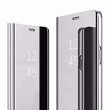 VGANA Espejo Funda Xiaomi Redmi Note 8 Pro, Inteligente ...