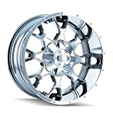 Mayhem Warrior 8015 Wheel with PVD 2 Chrome Finish (18x9''/16x165.1mm)