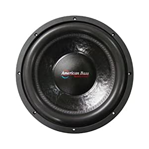"""American Bass XFL1544 15"""" Dual 4 Ohm Competition Car Stereo Subwoofer"""