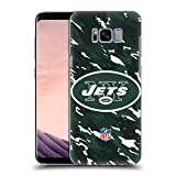 Official NFL Camou New York Jets Logo Hard Back Case for Samsung Galaxy S8