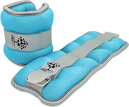 TruLabs-Adjustable-Ankle-Weights-Set-Wrists-Weights-Cuffs-1-lbs-each-Set-of-Two-Premium-Quality
